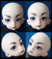 Dollzone Deerboy Face-Up by Kaalii