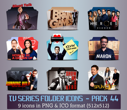 TV Series - Icon Pack 44 by apollojr