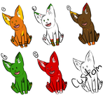 Pookie Adoptables 3 by SkyLandWarrior