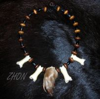 Chupacabra Claw Necklace by Zhon