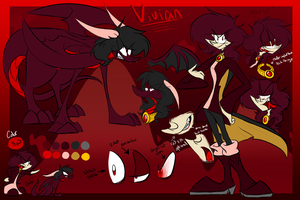 Vivian Reference Sheet by MtfoxX3