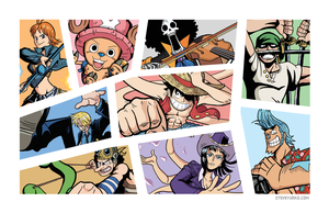 Meet the Straw Hats by TheSteveYurko