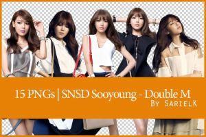 [PNG] SNSD Sooyoung - Double M by sarielk