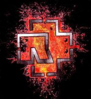 Rammstein Lava Logo by Fists-Of-Rock
