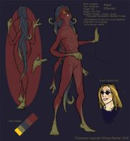 Klare Character Sheet by Magpieb0nes