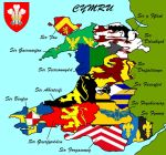 The Thirteen Shires of Wales by SteamPoweredWolf