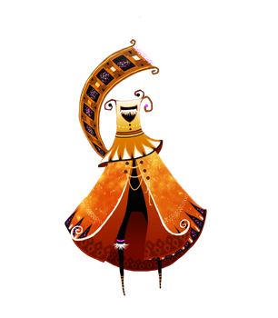 Journey Collab OC by Feannora