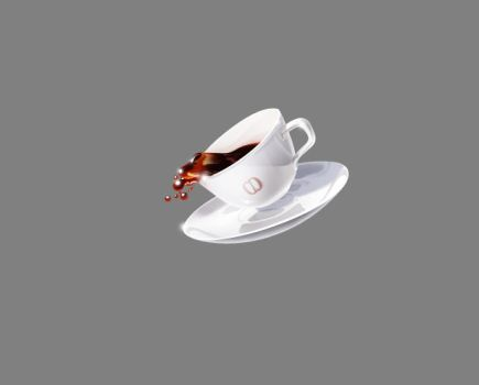 cup of coffee by lambda
