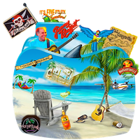 Jimmy Buffett Music Folder by CBDave