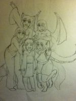 Group Picture by AbominalSnowDemon