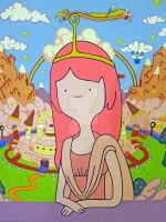 Mona Lisa - Princess Bubblegum by egyptianruin