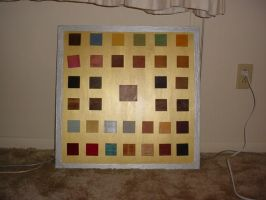 Historic Paint Sample Board by AutobotWonko