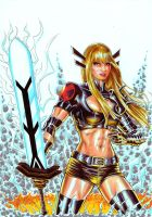 X-Men's Magik by Szigeti