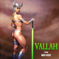 V is for Vallah by Jiggeh