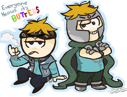 SP - everyone knows it's Butters by ziki-zai