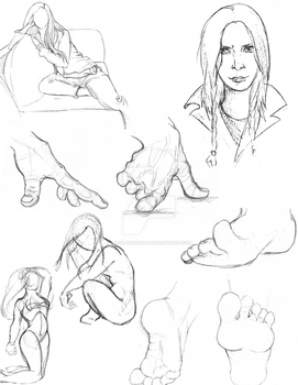 Sketches and Studies by Lt-Silverthorn
