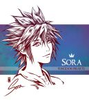 Sora - KINGDOM HEARTS by Clange-kaze