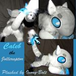 Caleb the Jolleraptor Plush! (Commissions open) by Ivory-Bolt