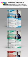 Corporate Flyer Template Vol 48 by jasonmendes