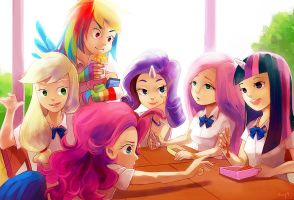 Lunch Time by amy30535
