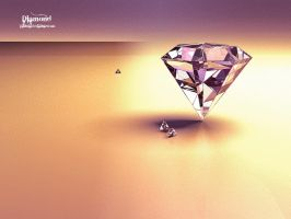 Diamond Wallpaper by Pantoja