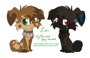 Len is a Doge by vaporeonshit