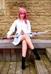 Lightning - Casually Waiting by Ellwell