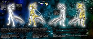 Lunari Ref Sheet (UPDATED) by furballofthefullmoon