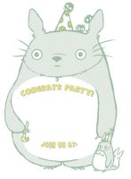 Totoro Party Invitation by Applefritter