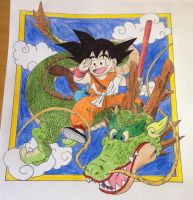 Dragon Ball by RedMcSpoon