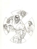 Colossus xmen by AaronKuder