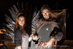 Robb and Talisa by CalamityJade