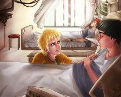 Hospital Beds by darkness333
