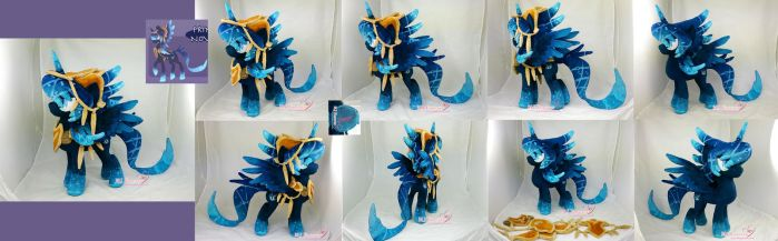 Novalis Plushie (Contest Prize) by moggymawee