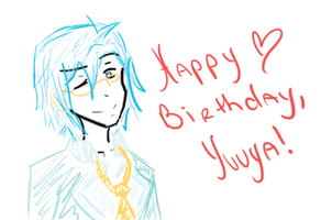 Happy Birthday, Yuuya! by AnimeGirlRaina