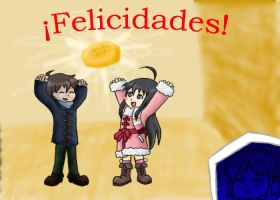 FELICIDADES by Renzo-ANIME-FAN
