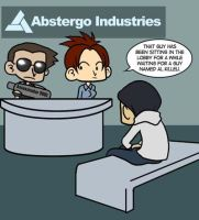 Abstergo Benches by Kaxen6