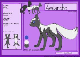 (TcotV) .: Avalanche ref sheet NEW :. by TheClansOf-TheValley
