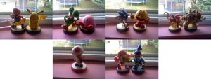 My Current Amiibo Collection by BriannaTheBlackCat