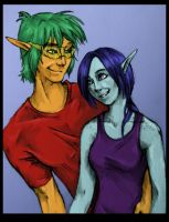 Toni and Charlez for Sirona by Infernal-Feline