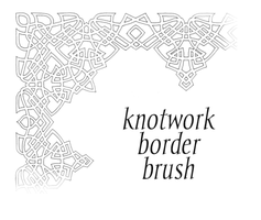 Knotwork Border Brush by frivolity65