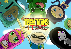 Teen Titans Time! - Wallpaper by RavenEvert