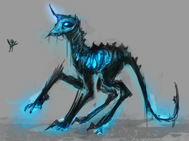 MLP death golem pony auction 22 CLOSED by ElkaArt