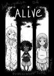 Alive - Webcomic Cover Page by DarkYokisa