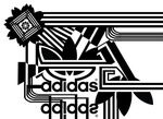 Adidas logos black and white by 11-95