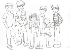 Group Picture by fl00fy