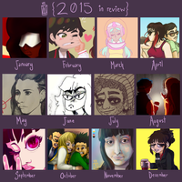 2015 In Review by ZombieComplex