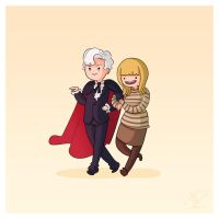 Adventure Time and Space! Third Doctor by Blizarro