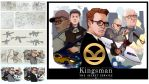 Kingsman Movie Poster by taho