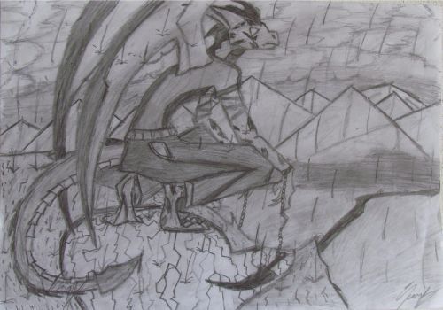 sketch: grown corrupted saph by Saphiro-Elric